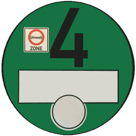 Milieusticker Duitsland | Groen